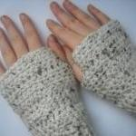 Crochet Gloves Fingerless C..
